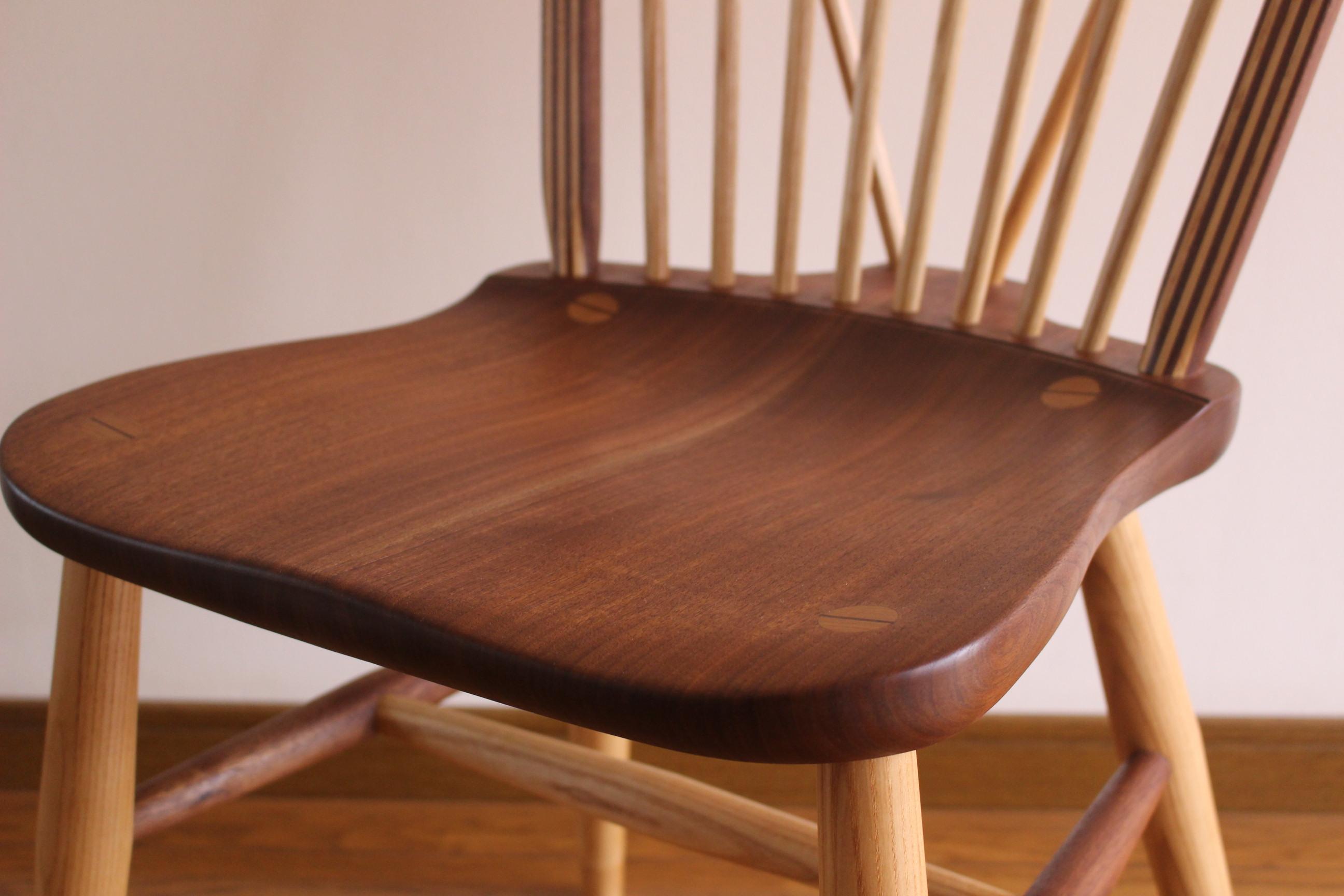 Loop Back Chair